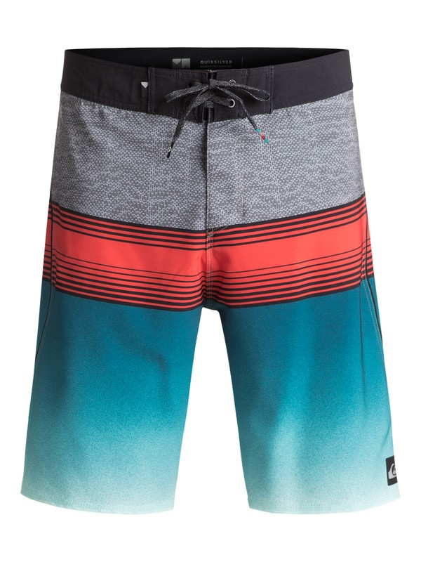 "0 Division Fade 21"" Boardshorts Blue EQYBS03752 Quiksilver"
