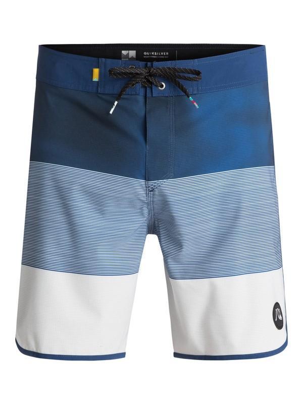 "0 Tijuana Scallop 18"" - Boardshorts Blau EQYBS03755 Quiksilver"