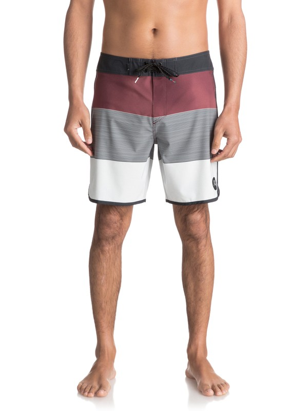 "0 Tijuana Scallop 18"" - Board Shorts Red EQYBS03755 Quiksilver"