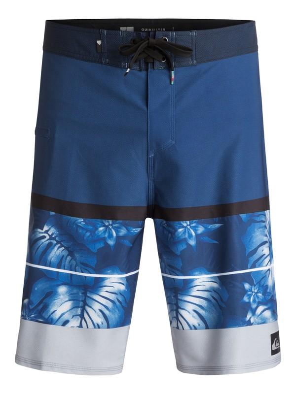 "0 Slab Vee 21"" Boardshorts Blue EQYBS03759 Quiksilver"