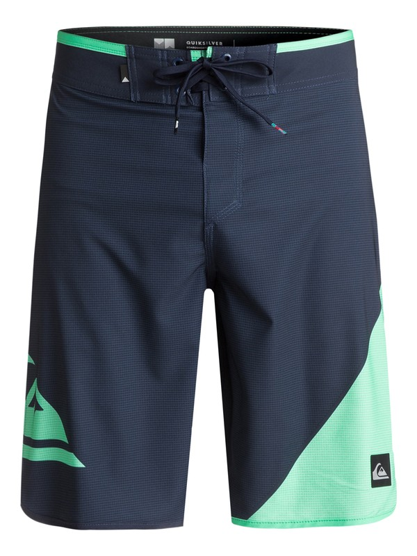 """0 New Wave 20"""" Boardshorts Blue EQYBS03764 Quiksilver"""