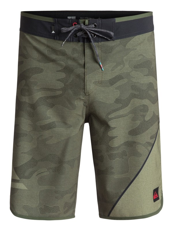 "0 New Wave 20"" Boardshorts Green EQYBS03764 Quiksilver"