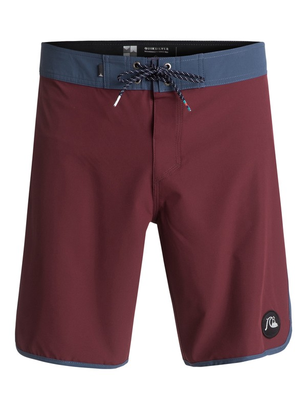 "0 The Scallop 19"" Boardshorts Red EQYBS03766 Quiksilver"