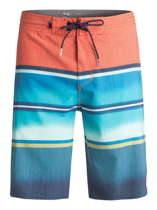"0 Swell Vision 20"" Beachshorts Orange EQYBS03782 Quiksilver"