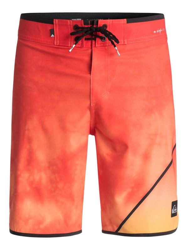 "0 Men's New Wave 19"" Boardshorts Orange EQYBS03810 Quiksilver"
