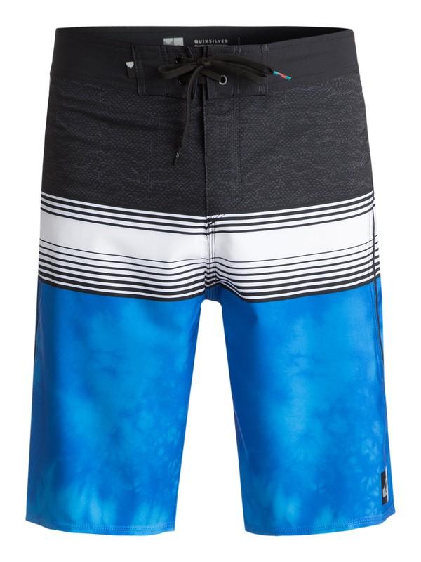 "0 Men's Division 21"" Boardshorts Blue EQYBS03814 Quiksilver"