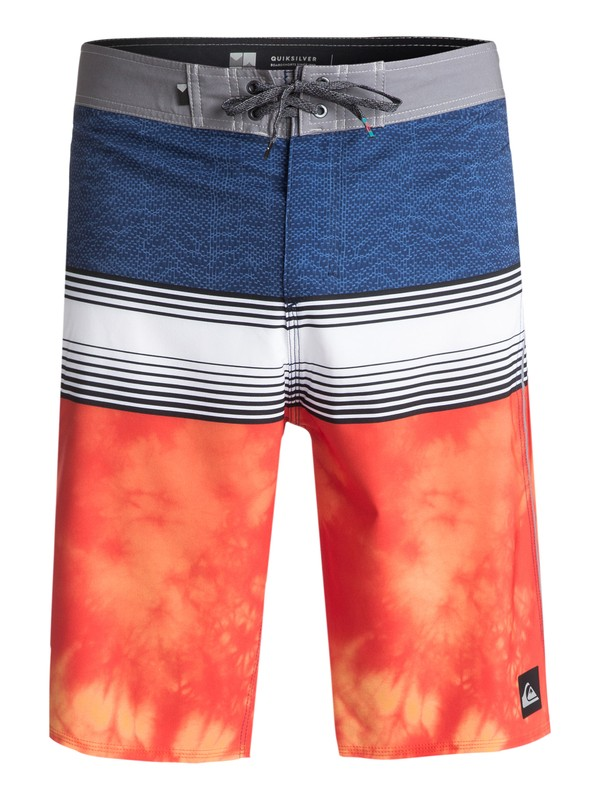 "0 Men's Division 21"" Boardshorts Orange EQYBS03814 Quiksilver"
