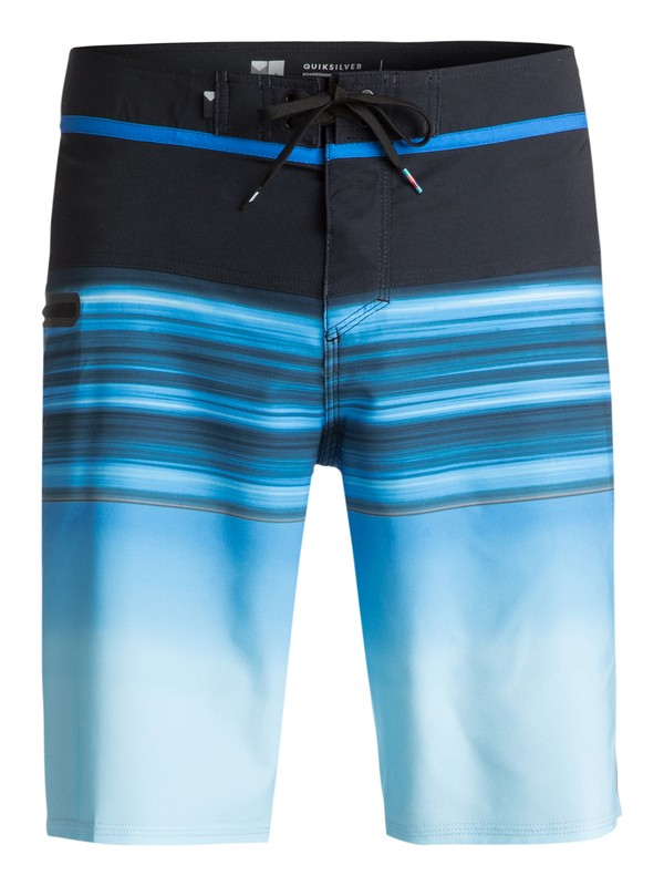 "0 Men's Hold Down Vee 20"" Boardshorts Blue EQYBS03816 Quiksilver"