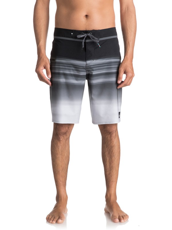 "0 Men's Hold Down Vee 20"" Boardshorts Black EQYBS03816 Quiksilver"