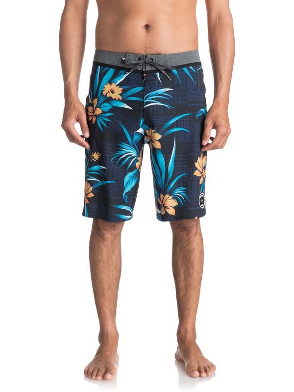 """0 Men's Everyday Hawaii Vee 21"""" Boardshorts Blue EQYBS03819 Quiksilver"""