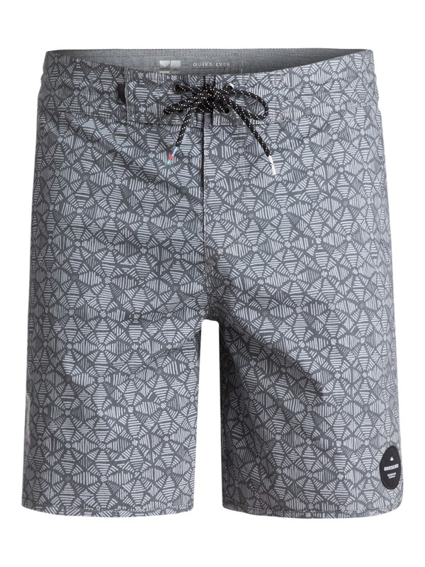 "0 Men's Variable 18"" Beachshorts Grey EQYBS03838 Quiksilver"