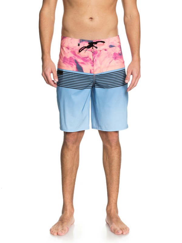 """0 Highline Lava Division 20"""" Boardshorts Blue EQYBS03846 Quiksilver"""