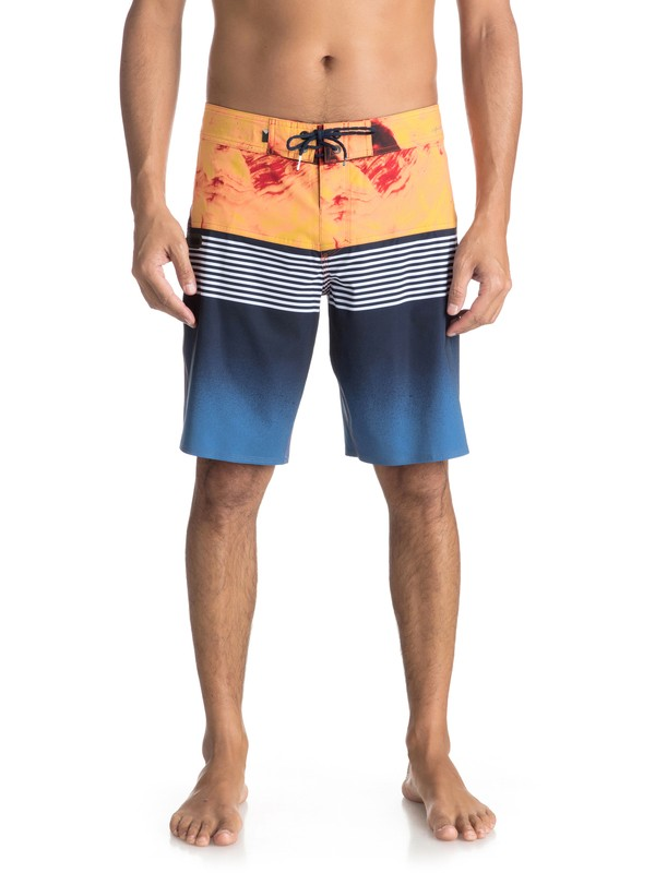 "0 Highline Lava Division 20"" Boardshorts Blue EQYBS03846 Quiksilver"