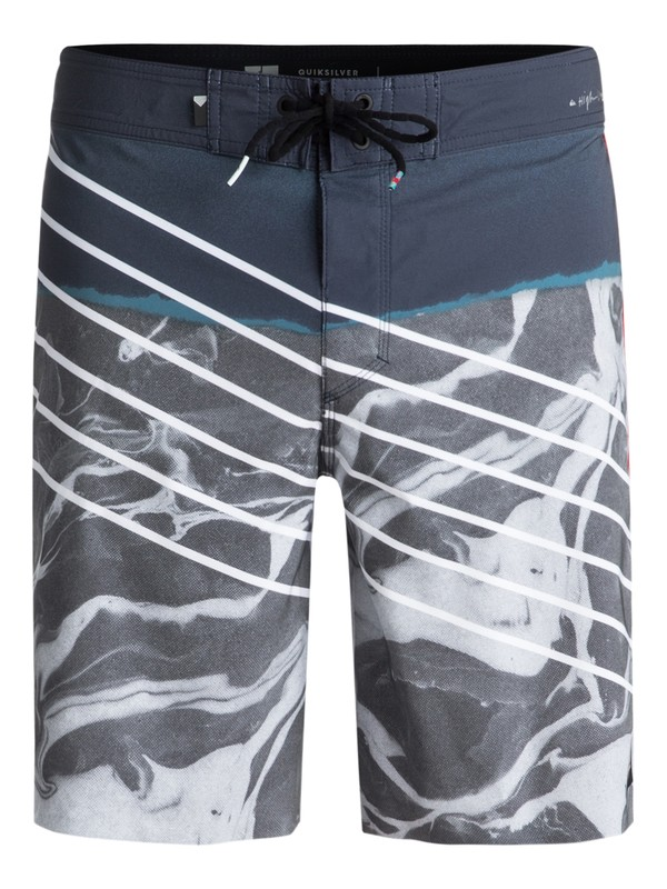 "0 Highline Lava Slash 19"" - Board Shorts Blue EQYBS03848 Quiksilver"