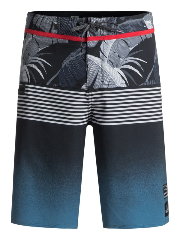 "0 Highline Division Hawaii 21"" Boardshorts Blue EQYBS03853 Quiksilver"