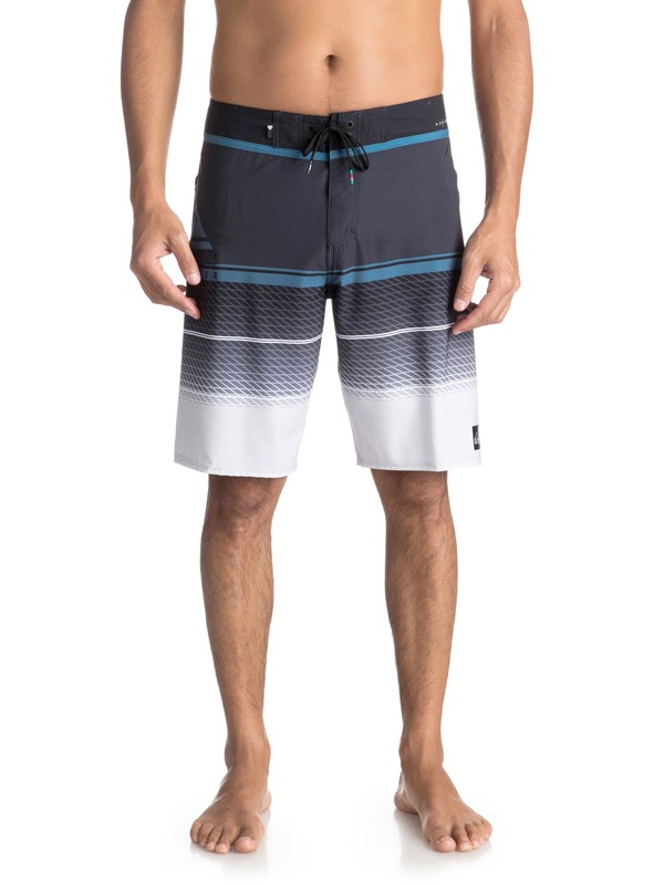"0 Highline Slab 20"" Boardshorts Black EQYBS03858 Quiksilver"