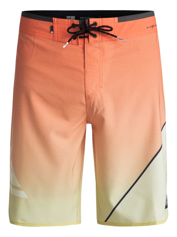 "0 Highline New Wave 20"" - Boardshorts Orange EQYBS03861 Quiksilver"