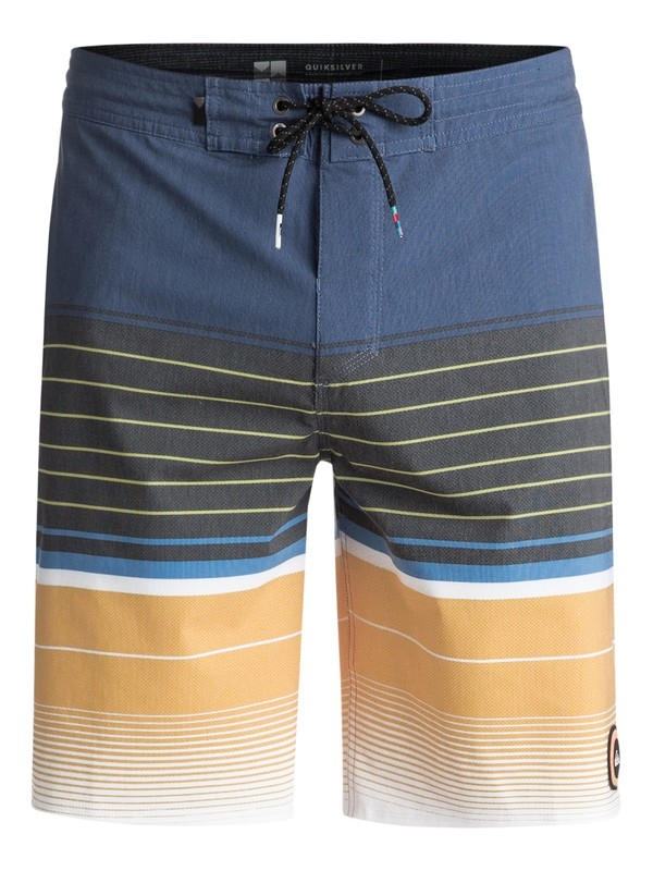 "0 Swell Vision 20"" Volley Boardshorts Blue EQYBS03866 Quiksilver"