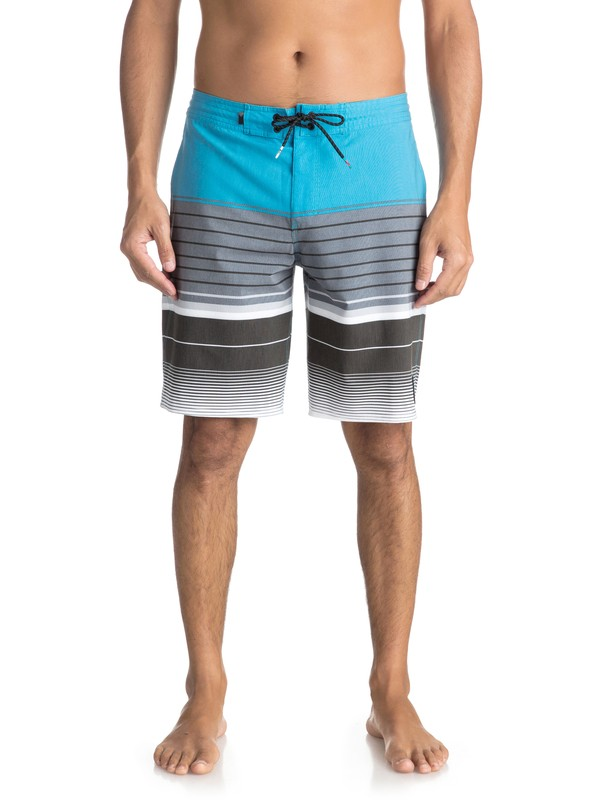 """0 Swell Vision 20"""" Volley Beachshorts Blue EQYBS03866 Quiksilver"""