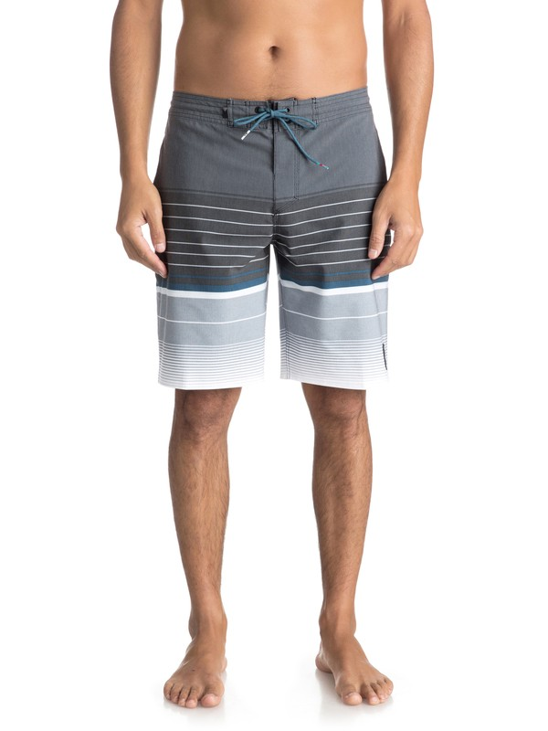 """0 Swell Vision 20"""" Volley Beachshorts Black EQYBS03866 Quiksilver"""
