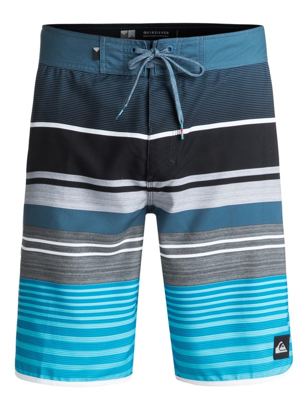 "0 Eye Scallop 20"" Boardshorts Blue EQYBS03871 Quiksilver"
