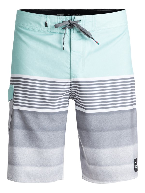 """0 Division 20"""" Boardshorts Blue EQYBS03873 Quiksilver"""
