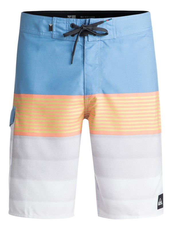 "0 Division 20"" Boardshorts Blue EQYBS03873 Quiksilver"