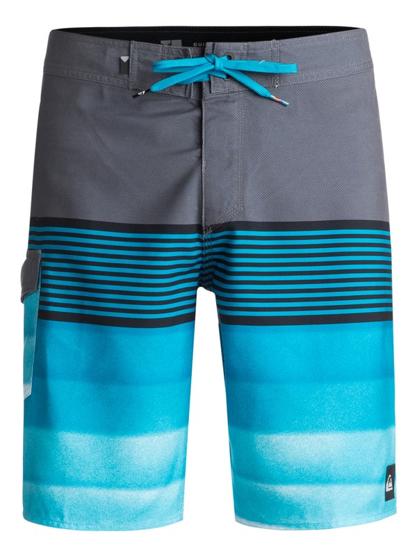 "0 Division 20"" Boardshorts Black EQYBS03873 Quiksilver"