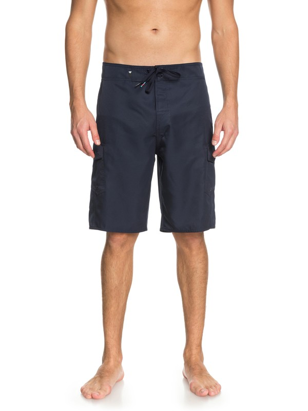 "0 Manic 21"" Boardshorts Blue EQYBS03875 Quiksilver"
