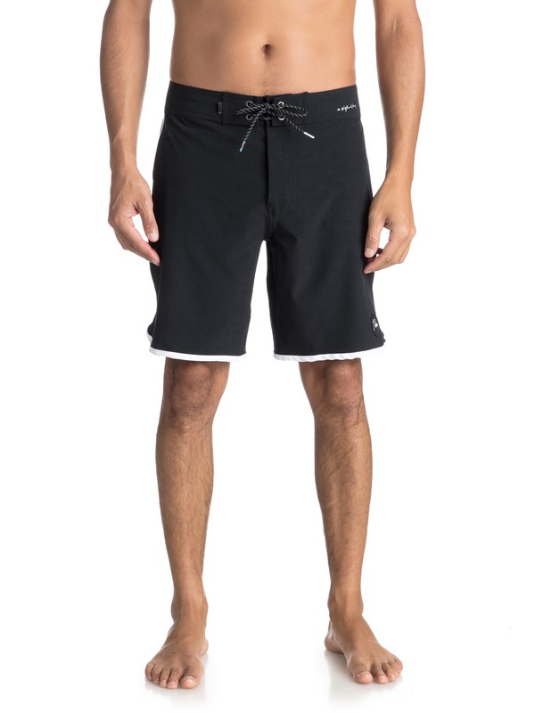 "0 Highline Scallop 19"" - Board Shorts Black EQYBS03885 Quiksilver"