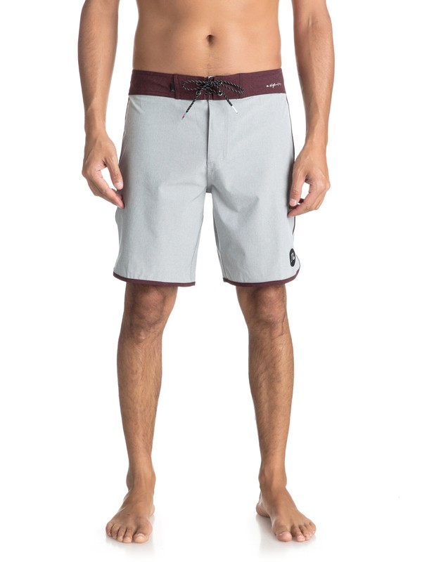 "0 Highline Scallop 19"" - Board Shorts Grey EQYBS03885 Quiksilver"