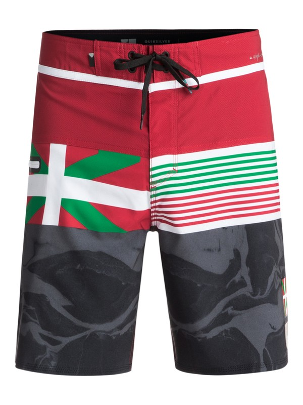 "0 Highline Local 19"" - Boardshorts Rojo EQYBS03890 Quiksilver"