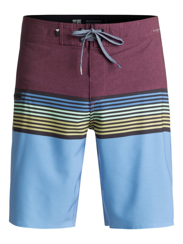 """0 Highline Division 20"""" Boardshorts Red EQYBS03893 Quiksilver"""