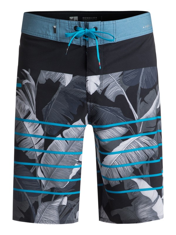 "0 Highline Island Time 21"" Boardshorts Black EQYBS03895 Quiksilver"
