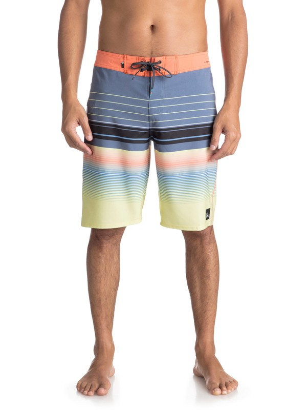 """0 Highlinesion 21"""" Boardshorts Blue EQYBS03898 Quiksilver"""