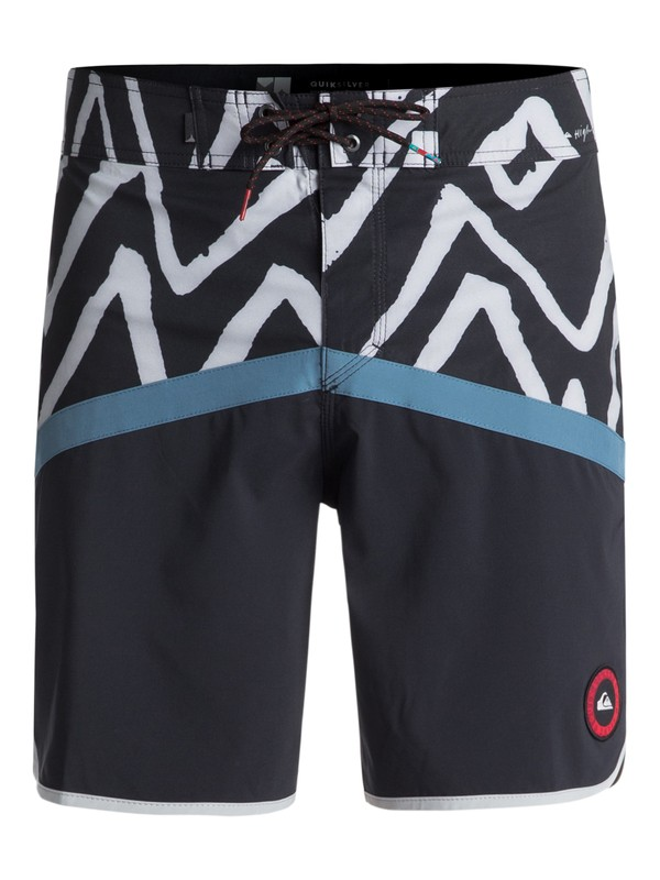"0 Highline Techtonics 18"" - Boardshort Bleu EQYBS03900 Quiksilver"