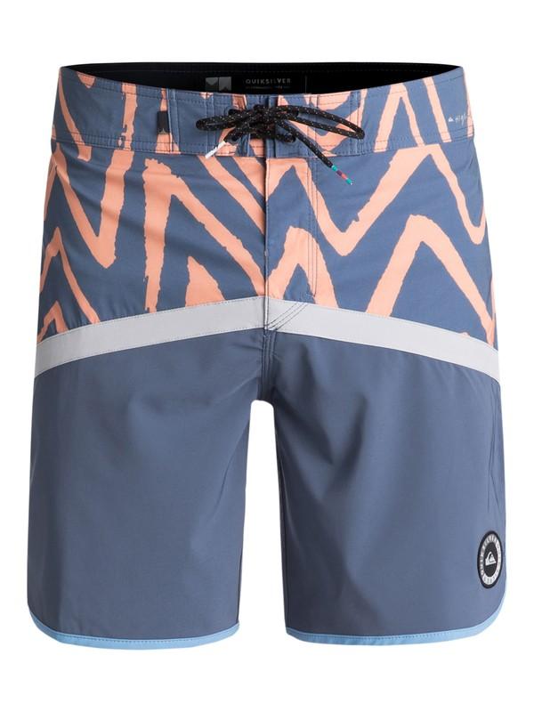 "0 Highline Techtonics 18"" - Board Shorts Grey EQYBS03900 Quiksilver"