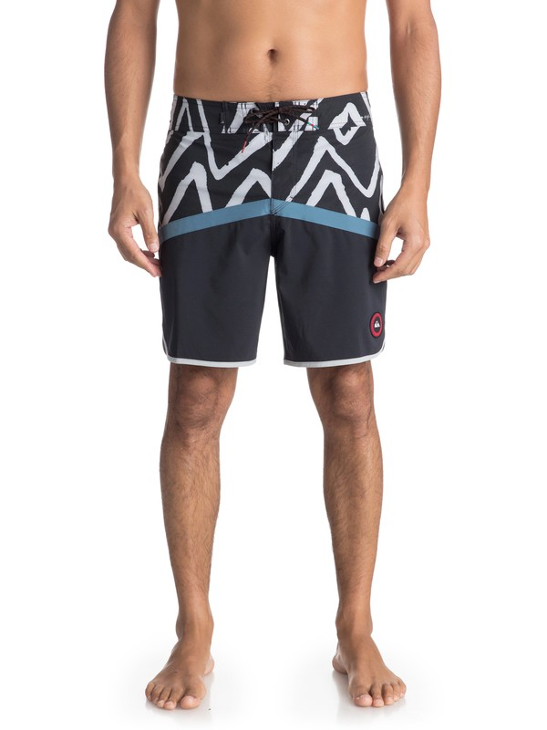 "0 Highline Techtonics 18"" - Boardshort Blue EQYBS03900 Quiksilver"