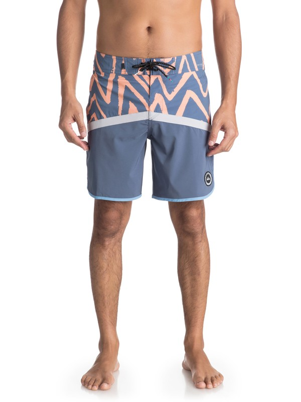 "0 Highline Techtonics 18"" - Boardshort Gray EQYBS03900 Quiksilver"