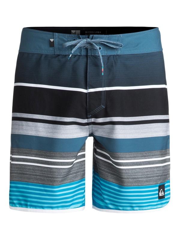 "0 Eye Scallop 17"" - Boardshorts Blau EQYBS03901 Quiksilver"
