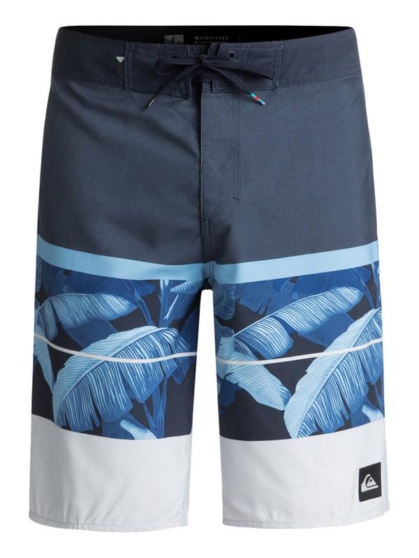 "0 Slab Island 21"" Boardshorts Blue EQYBS03902 Quiksilver"