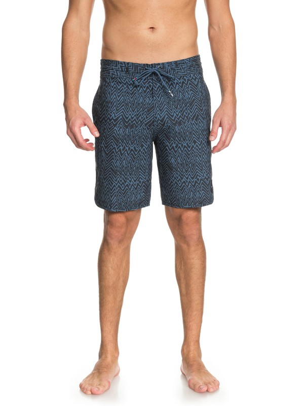 "0 Variable 19"" Volley Beachshorts Blue EQYBS03908 Quiksilver"