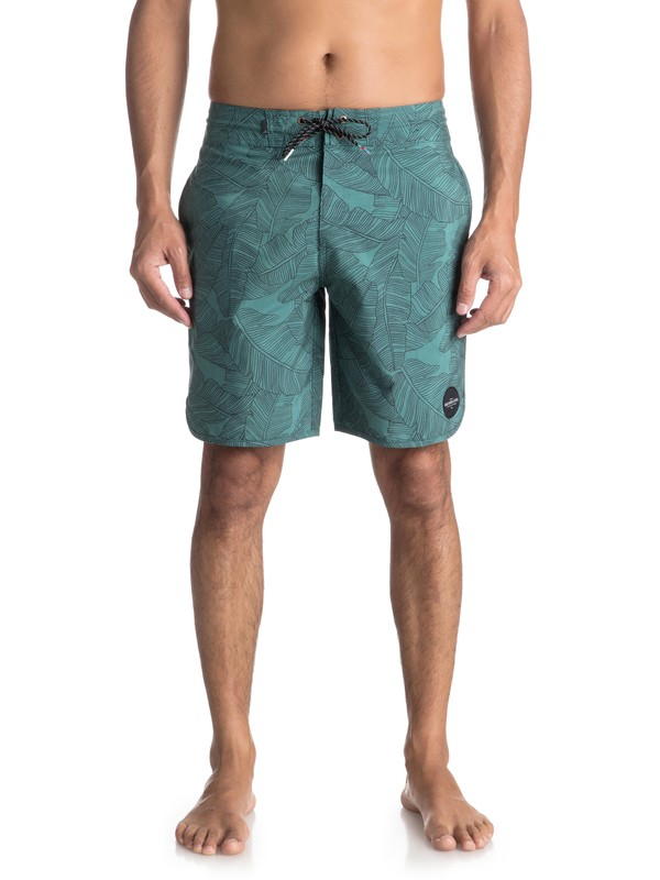 "0 Variable 19"" Volley Beachshorts Green EQYBS03908 Quiksilver"
