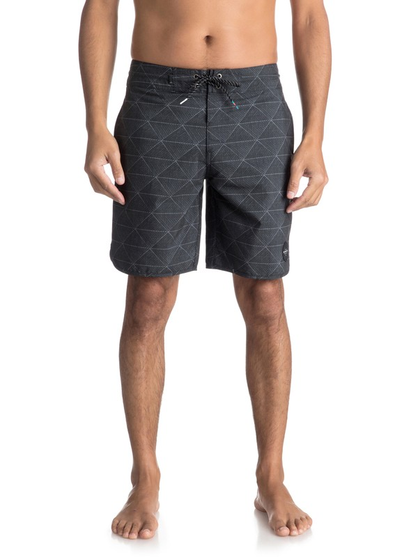 "0 Variable 19"" Volley Beachshorts Black EQYBS03908 Quiksilver"