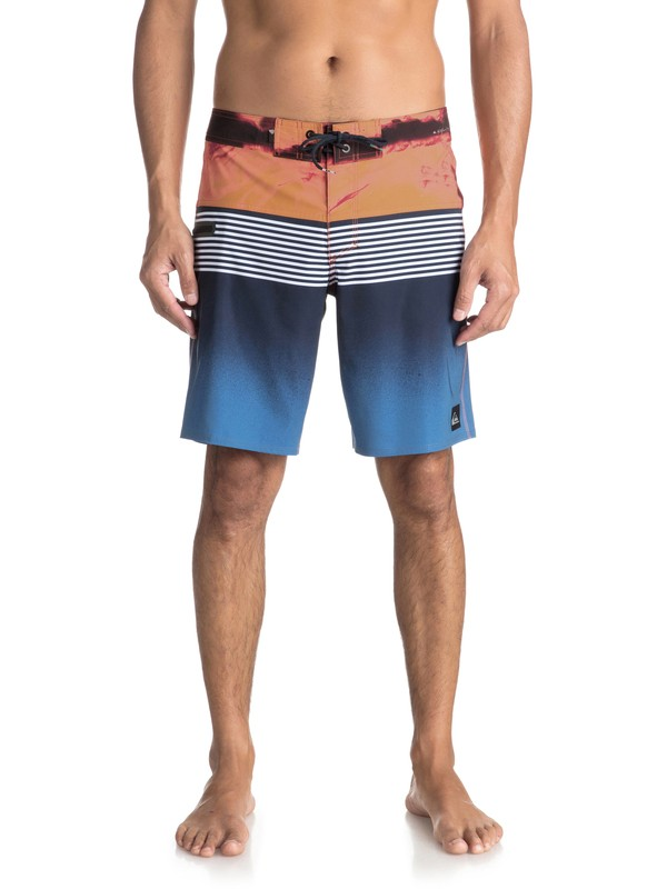 "0 Highline Lava Division 19"" - Boardshort Blue EQYBS03916 Quiksilver"