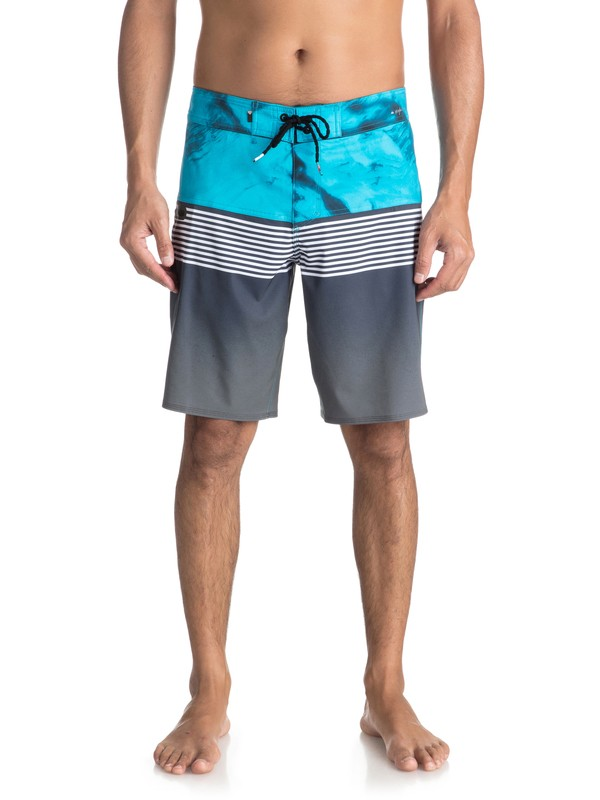 "0 Highline Lava Division 19"" - Board Shorts Black EQYBS03916 Quiksilver"