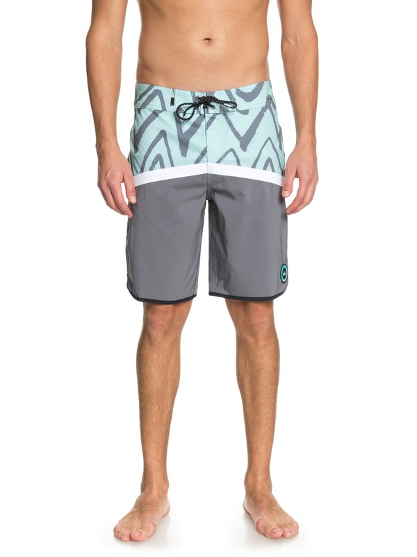 "0 Highline Techtonics 20"" Boardshorts Blue EQYBS03917 Quiksilver"
