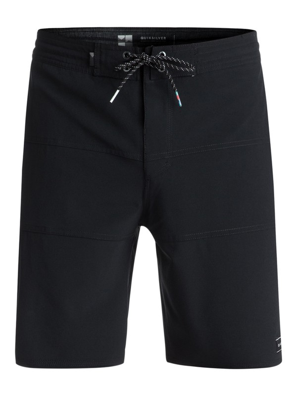 "0 Baja 19"" Volley Boardshorts Black EQYBS03923 Quiksilver"