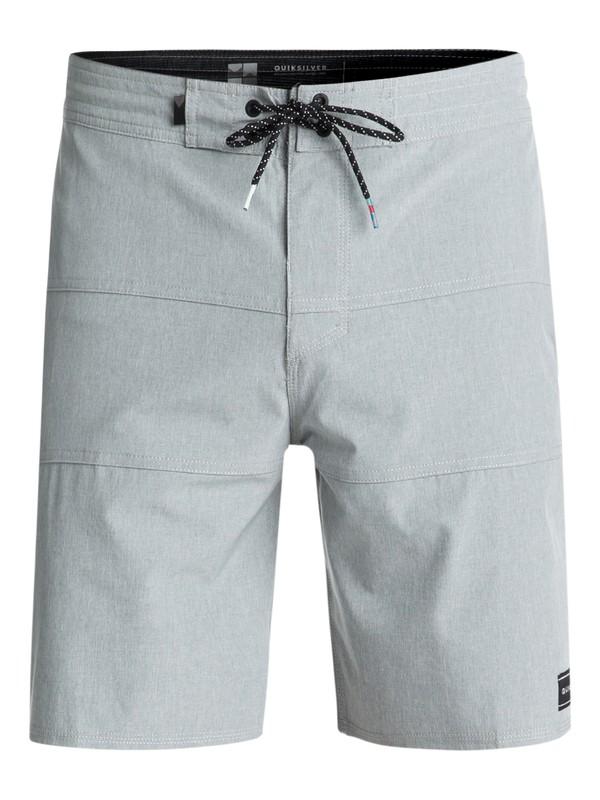 "0 Baja 19"" Volley Boardshorts Grey EQYBS03923 Quiksilver"