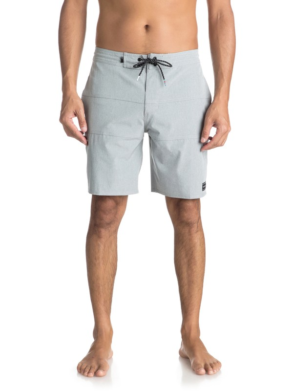 "0 Baja 19"" Volley Beachshorts Grey EQYBS03923 Quiksilver"